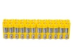 24AA Pack Battery Caddy (yellow)