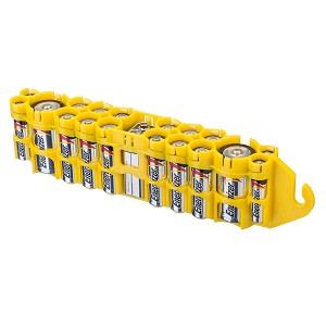 The Original Battery Caddy (yellow)