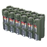 12AA Pack Battery Caddy (military green)