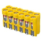 12AA Pack Battery Caddy (yellow)