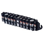 The Original Battery Caddy (tuxedo black)