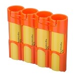 18650 Battery Caddy (orange)